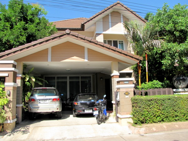 Chiang mai house for sale muang 4 house for sale 2205 for Chiang mai house for rent swimming pool