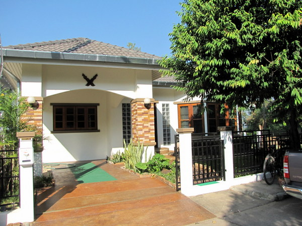 Chiang mai house for rent muang 2 house for rent 2222 for Chiang mai house for rent swimming pool